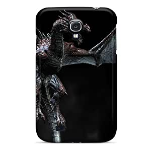 For GAwilliam Galaxy Protective Case, High Quality For Galaxy S4 Skyrim Dragon Skin Case Cover