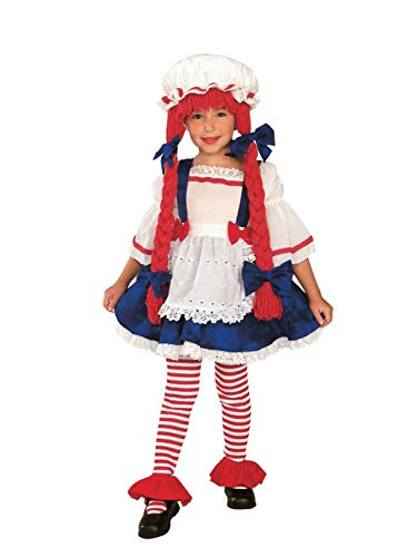 Yarn Babies Girl Ragdoll Costume, Medium -