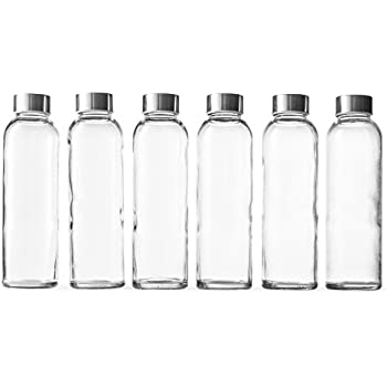 4914f333d9f9 Epica 18-Oz. Glass Beverage Bottles, Set of 6