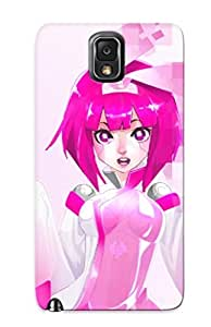 Exultantor Rugged Skin Case Cover For Galaxy Note 3- Eco-friendly Packaging(anime Unknown)