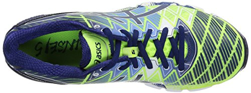 Asics Gel Kinsei 5 - Zapatillas de running para hombre, color Fl.Yel/Blue D/White
