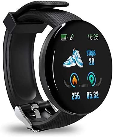 Smart Watch for Android and iOS Phone IP68 Waterproof, Fitness Tracker Heart Rate Monitor Sport Digital Watch, Smart Watches for Men and Women Compatible with Android, iPhone, Samsung