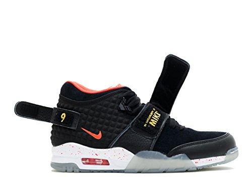 Nike Mens Air Trainer Cruz Geheugen Van Mike 821955-001 Blk, Brght Crmsn-tr Yllw-white