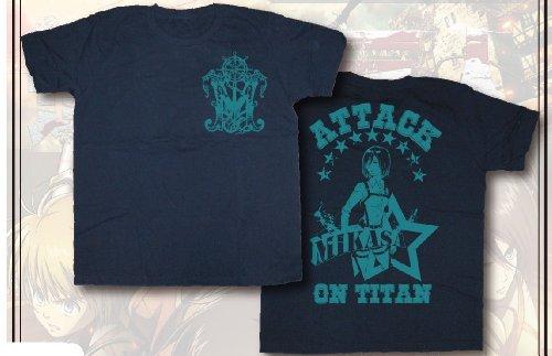Angriff auf Titan-Grafik-T-Shirt Mikasa Gr??e: S (Japan-Import)