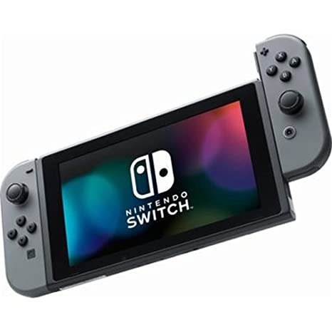Amazon Com Nintendo Switch Gray Joy Con Hac 001 Discontinued By Manufacturer Video Games