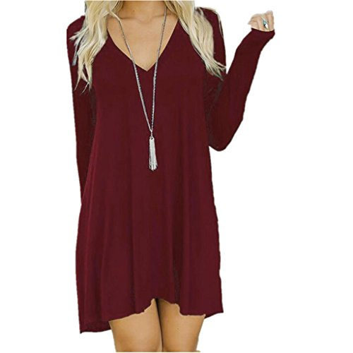 women-casual-mini-dressfunic-long-sleeve-evening-party-short-mini-dress-x-large-wine-red