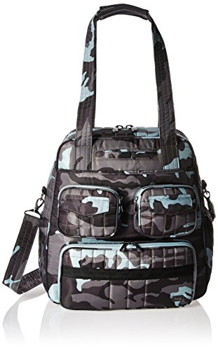 Lug Women's Puddle Jumper Overnight/Gym Duffel Bag, Camo Ice, One Size by Lug