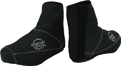 Planet Bike Blitzen Shoe Covers (Large) (Best Cycling Overshoes For Warmth)