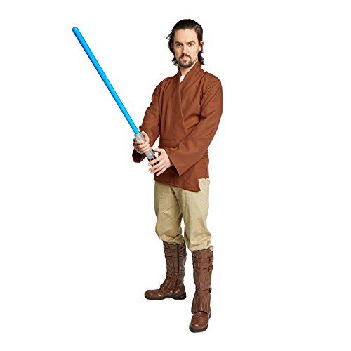 M&m Dark Costume Chocolate (Men's Jedi Sith Tunic Costume Adult (Medium,)