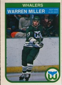 b86596c71 Amazon.com  1982 O-Pee-Chee Regular (Hockey) card 127 Warren Miller ...
