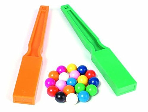 Set of 2 Wands /& 20 Magnetic Marbles School Science MAGNETISM Resource MAGNETIC Marbles /& Wands Set