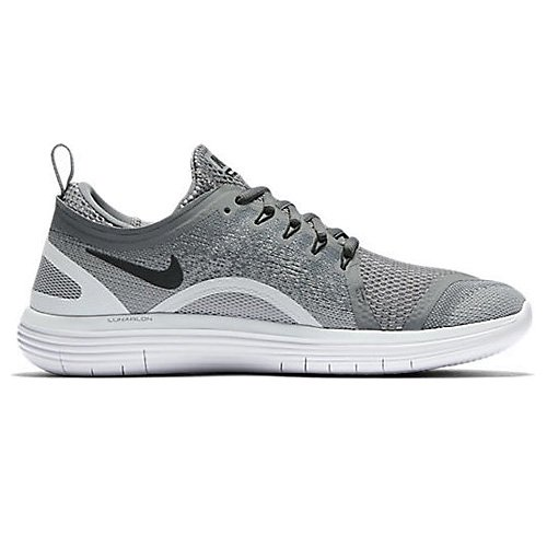 Zapatillas De Running Nike Hombres Free Rn Distance 2 Cool Gray / Black Wolf Gray