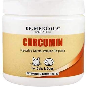 Dr. Mercola Healthy Pets Curcumin 122.1 grams: Amazon.es ...