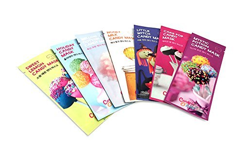 [Candy O'Lady] 1 Week Candy Mask pack (7 Sheets)