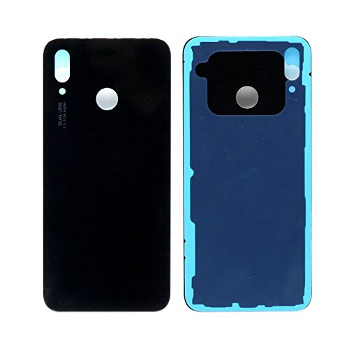 Nova Back Glass - Glass Back Battery Cover Door Case Housing Replacement For Huawei P20 lite ANE-L21/Nova 3e Black