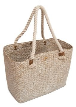 Seagrass Natural Shopping Bag Beach Bag With Rope Handles ...