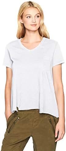 Wilt Women's Shifted Seamed Pocket T