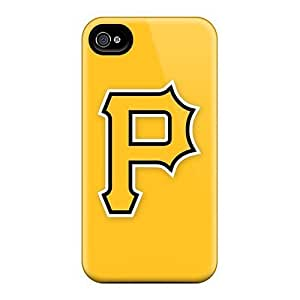 Apple Iphone 5/5s Durable Hard Phone Covers Support Personal Customs Realistic Baseball Pittsburgh Pirates 1 Pictures [osT10023JgIW]