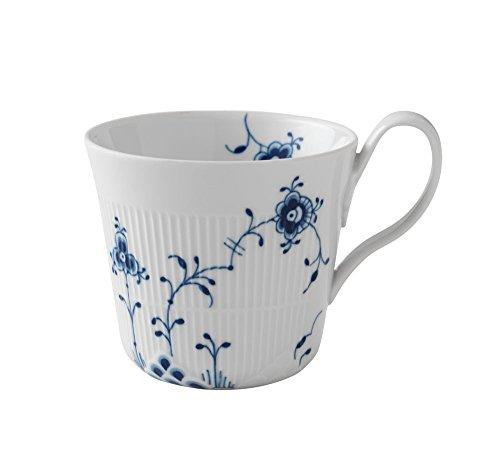 Royal Copenhagen Elements Cup H. Handle 0.35 l Blue by Royal Copenhagen