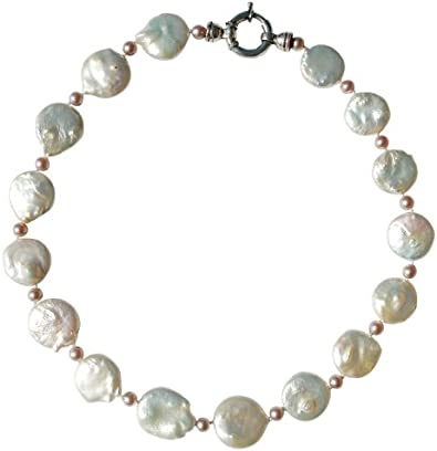 collier homme grosse perle