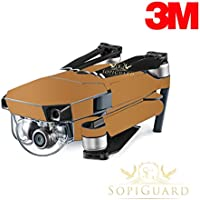 SopiGuard 3M Matte Copper Precision Edge-to-Edge Coverage Vinyl Skin Controller Battery Wrap for DJI Mavic Pro
