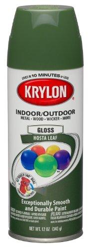 Krylon (53541-6 PK) Hosta Leaf Interior/Exterior Decorator Paint - 12 oz. Aerosol, (Case of (Hosta Leaf)
