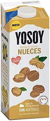 Yosoy - Bebida de Avena con Nueces - 1L: Amazon.es: Alimentación y bebidas