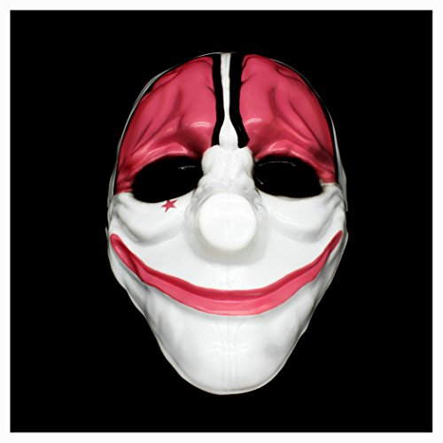Costumes Houston (Lufore PAYDAY 2 Costume Mask Halloween Party Cosplay Props (Houston))