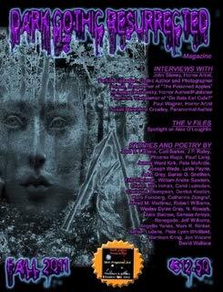 Dark Gothic Resurrected Magazine--Fall 2011 ()