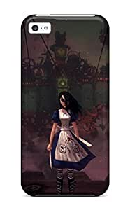 Defender Case For Iphone 5c, Alice Madness Returns Pattern