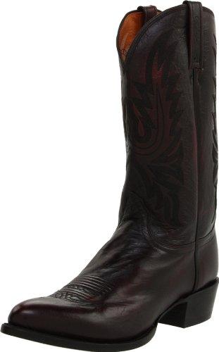 Lucchese Cerise Veau m Démarrer Cowboy Masculine M1021 Lonestar 8d Noir Cssics PxrTgXwP