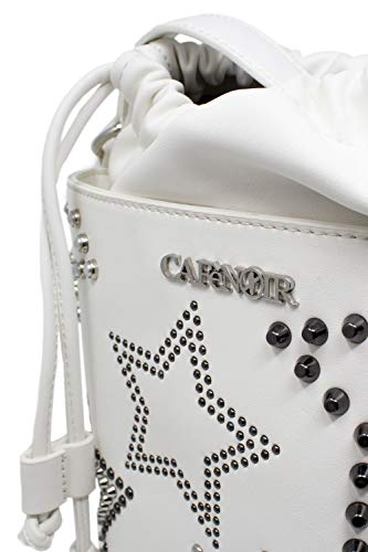 Over De Femme Sac Noir Stars Blanc Ibmn172 All Bucket Caf㨠Studs EA8qZxU8n