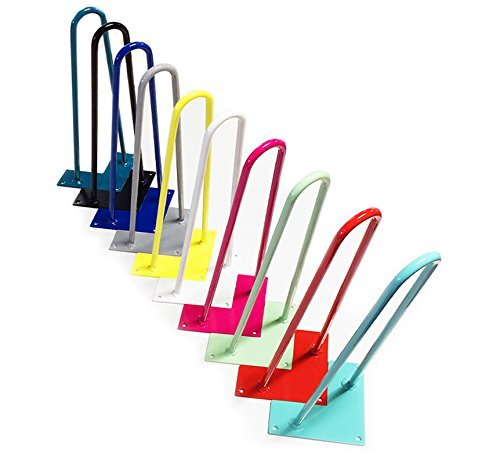 Colored Hairpin Legs for Tables, Desks, Dressers, Buffets,...