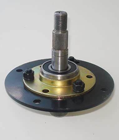 41zJxqYULXL._SY450_ amazon com spindle assembly for mtd 717 0906, 917 0906 garden  at crackthecode.co