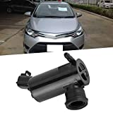 Suuonee Washer Pump, Car Auto Windshield Windscreen Washer Pump Motor Fit for TOYOTA VIOS 2014 85330-0D131