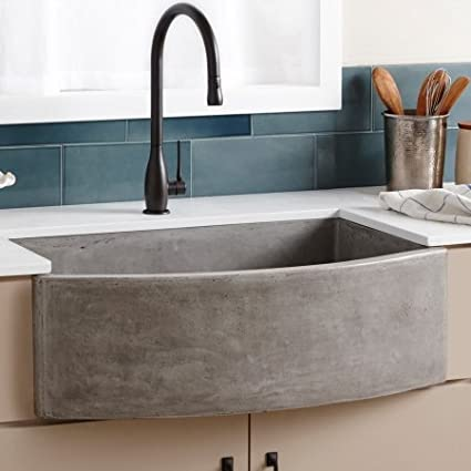 Beau Image Unavailable. Image Not Available For. Color: Native Trails  NativeStone NSKQ3320 Farmhouse Single Bowl Quartet Kitchen Sink