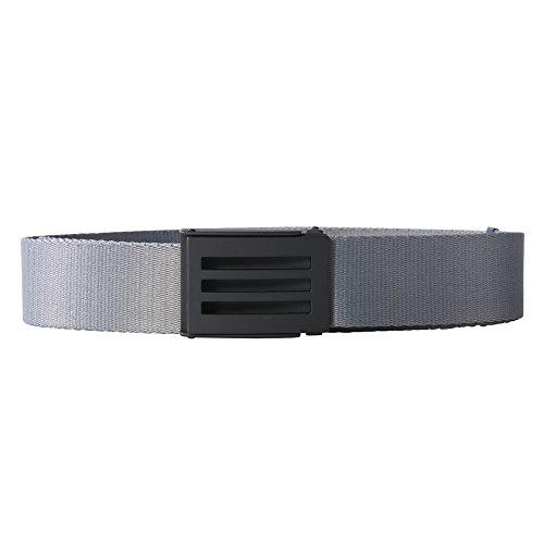 Golf Ball Belt - adidas Golf Men's Webbing Belt, Vista Grey S15, One Size