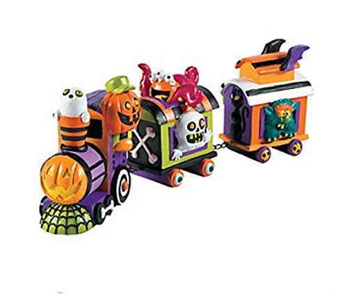 Halloween Monster Train Tabletop Collectible Prop Decoration