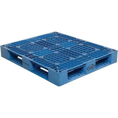 VESTIL PLP2-4840-BLUE PALLETBLUE 48''X40'' by Vestil (Image #1)