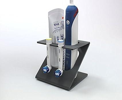 Soporte de cabezal de cepillo de dientes eléctrico, soporte para 2 cabezales del