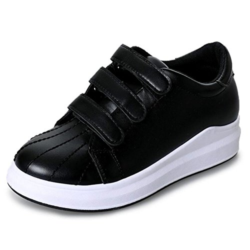 Lazy Black GAOLIXIA Shoes New Shoes Black White Shoes Casual Wild Velcro Ladies Shoes Sports Casual Fx0qHf