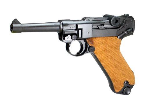 タナカ/ルガーP08 4インチHW木製グリップ付
