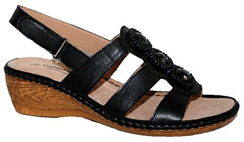 Cushion Walk - Sandalias de vestir de Material Sintético para mujer flor negra