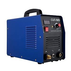 VEVOR Plasma Cutter Cutting 50AMP Digital Inverter 110V Welding Welder Cutting Machine (110V) by VEVOR