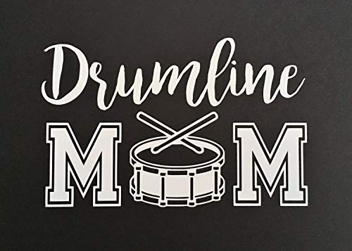 Yetta Quiller Drumline Mom Marching Band Decal ONLY Tumbler Car Laptop Decal Sticker