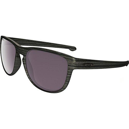 Oakley Men's Sliver R Non-Polarized Iridium Sunglasses, Matte Black with Jade Iridium, 57 - Oakley Customize Goggles