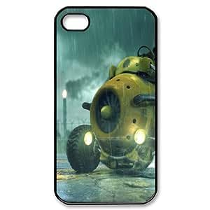 Tyquin Rain Drop IPhone 4/4s Case Rainy Night, Rain Drop, {Black}