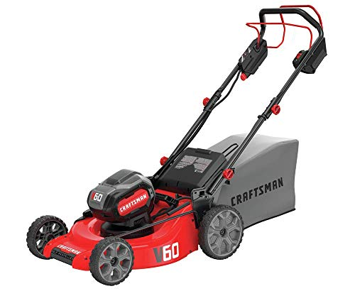 CRAFTSMAN V60 Cordless Lawn Mower, Self Propelled, 7.5-Ah CMCMW270Z1