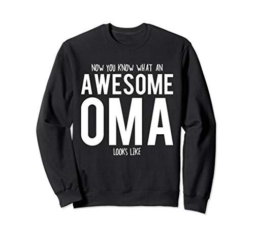 (Oma Gift - Awesome Oma Sweatshirt)
