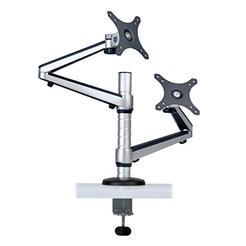 Tripp Lite Dual Full-Motion Flex Arm Desk Clamp for 13 to 27
